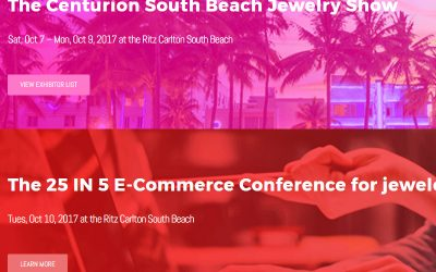 We Will Be at Centurion South Beach in October!